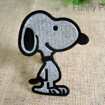 Sparkling Snoopy Iron on Patch 80-HA