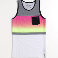 Lost Gotcha Too Pink Tank Mens