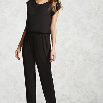 Self-Tie Jumpsuit