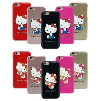 Hello Kitty jelly Origin Case - iPhone (Finger leather) -IPHONE 6 Case
