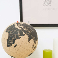 Suck UK Large Cork Globe - Urban Outfitters