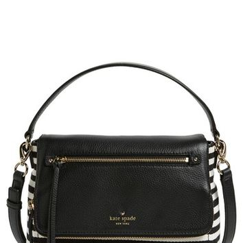 kate spade new york 'cobble hill stripe - small toddy' crossbody bag | Nordstrom