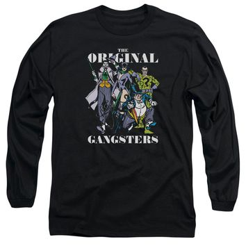 Dc - Original Gangsters Long Sleeve Adult 18/1 Officially Licensed Shirt