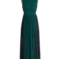 ModCloth Long Sleeveless Maxi Sea It Through Dress