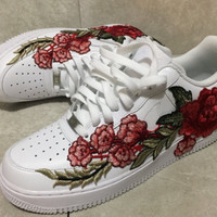 Custom Gucci Air Force ones