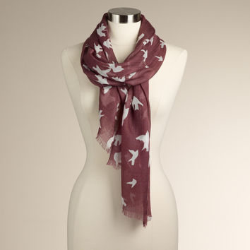 Bird Silhouette Scarf | World Market