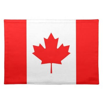 Canadian Flag MoJo Placemat