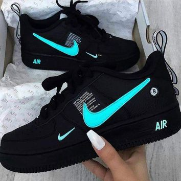 NIKE AIR FORCE 1 AF1 OW Running Sport Shoes Sneakers-1