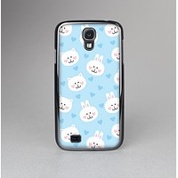 The Subtle Blue & White Faced Cats Skin-Sert Case for the Samsung Galaxy S4