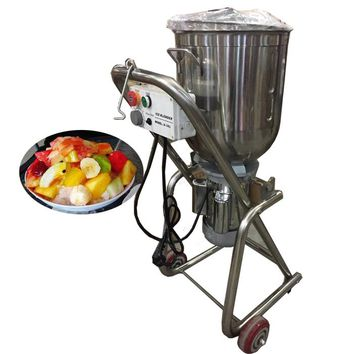 Stainless Steel Blender Machine Commercial / High Speed Blender 220v