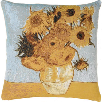 Sunflowers by Van Gogh French Cushion