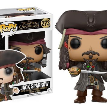 Jack Sparrow Pirates of the Caribbean Funko Pop! Vinyl Figure #273