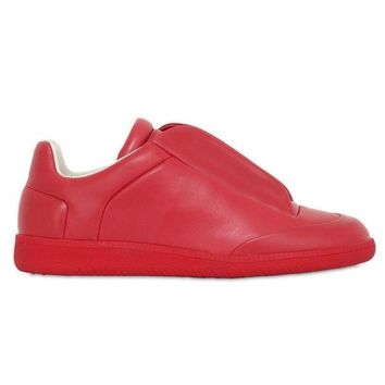 Future Soft Calfskin Low-Top Leather Sneakers