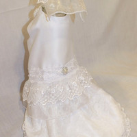 RockinDogs Custom Dog Wedding Dress and Veil