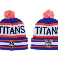 auguau Gold Coast Titans Beanies NRL Football Hat