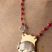 Armadillo Pendant Necklace