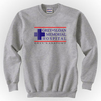 Grey Sloan Memorial Hospital Unisex Crewneck Sweatshirt S to 3XL