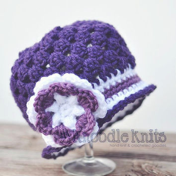 Baby Hats Newborn Hats Baby Girl Hats Newborn Baby by knoodleknits