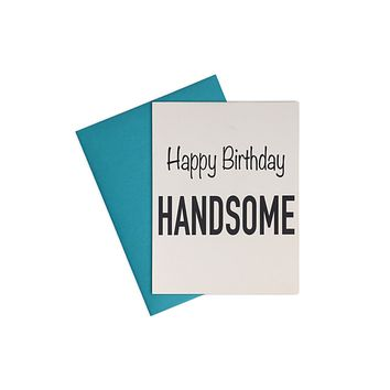 Card- Happy Bday Handsome