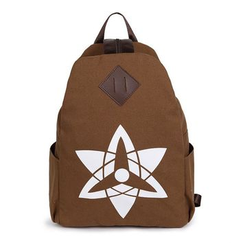 Japanese Anime Bag The new cartoon around the  Naruto cosplay backpack fashion men and women canvas leisure backpack AT_59_4