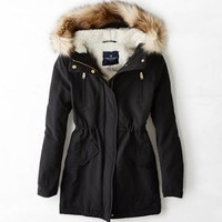 AEO CINCHED SURPLUS PARKA