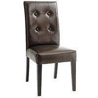 Pier 1 Imports - Pier 1 Imports > Catalog > Furniture > Pier1ToGo Product Details - Mason Bonded Leather Dining Chair - Brown