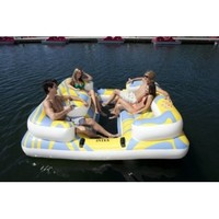 Intex Relaxation Station Private Island Holds 704 LBS 4 Person