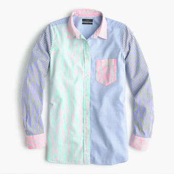 Colorful cocktail boy shirt