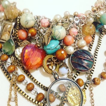 Vintage Reinvented - Mermaid Necklace