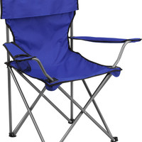 Folding Blue Camping Chair