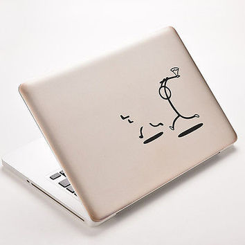 "Killer Stickman Decal Sticker Skin for MacBook Air/Pro Laptop 11"" 13"" 15"""