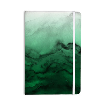"Ebi Emporium ""Winter Waves 7"" Green Black Everything Notebook"