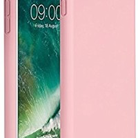 "Miracase iPhone 8 Plus Silicone Case, iPhone 7 Plus Silicone Case Silicone Gel Rubber Full Body Protection Shockproof Cover Case Drop Protection for Apple iPhone 7 Plus/iPhone 8 Plus(5.5"")-Rose Pink"
