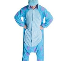 Rnmomo Unisex-adult Kigurumi Onesuit Sully Pajamas (XL: 182 - 190cm (5.9' - 6.3') height)