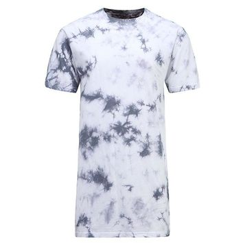 Skateboard Skater t-Shirt  T Shirt Men Tie-dye Printed Street  Short Sleeves T-shirt Tide Fashion Summer Casual Tops Breathable Cotton Tees AT_45_3