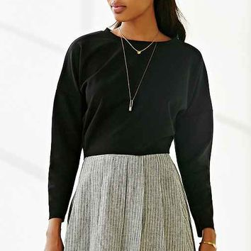 Silence + Noise Modern Cropped Top-
