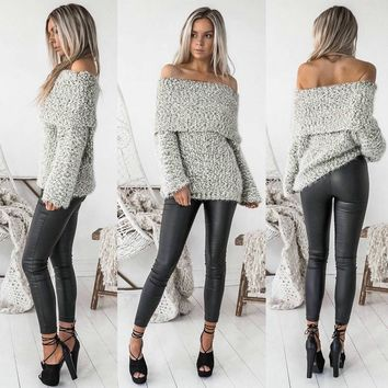 Long Sleeve Women's Fashion Winter Tops [10495221965]
