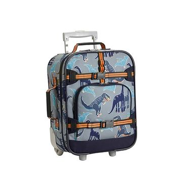 Mackenzie Gray Dino Luggage | Pottery Barn Kids