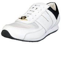 Versace Mens Lace-up Fashion Sneakers FSU071CFVVT1-F140
