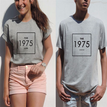The 1975 Band Funny Unisex tee indie rock Top Music Matt Healy Hipster Fashion Clothing Women Men Summer Style t shirt T-F20009