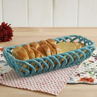 The Pioneer Woman Timeless Beauty 13.7-Inch Red Bread Basket - Walmart.com
