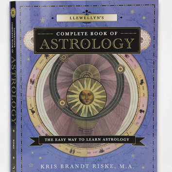 Llewellyns Complete Book Of Astrology: The Easy Way To Learn Astrology By Kris Brandt Riske MA - Urban Outfitters