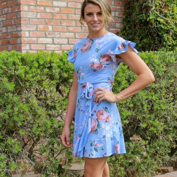 Carry On Floral Dress