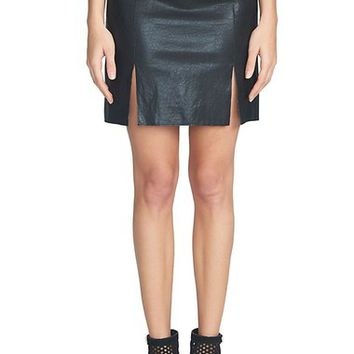 1.STATE A-Line Faux Leather Miniskirt | Nordstrom