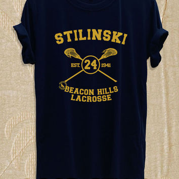 Stiles Stilinski Shirt T Shirt TShirt | Stiles Stilinski Shirt Tshirt | Teen Wolf TEENWOLF-STIL-A Shirt for Men Women Size S,M,L,XL