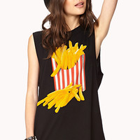French Fries Muscle Tee