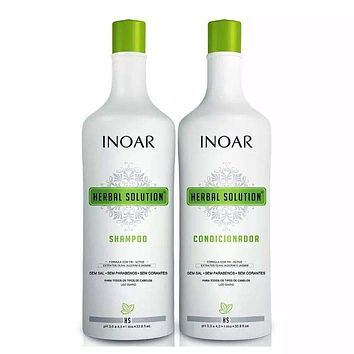 Inoar Herbal Solution - Kit 1000ml (33.81fl.oz)