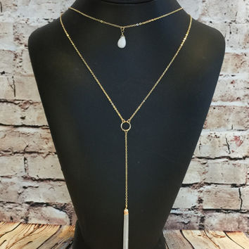 No Other Way Necklace: Ivory