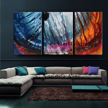 Large Wall Art Modern Abstract Art on Canvas 72 Original Acrylic Painting, Abstract Painting, Oil Painting, Contemporary Wall Art Home Decor