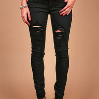 Strike Midnight Skinnys - Skinny Denim at Pinkice.com